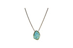 Gem Pendant Necklace - Short
