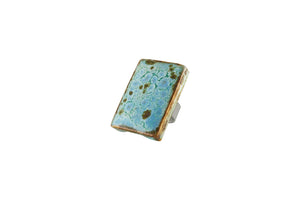 Rectangle Ring Custom Jewelry Asheville NC