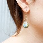 Small Circle Earrings Custom Jewelry Asheville NC
