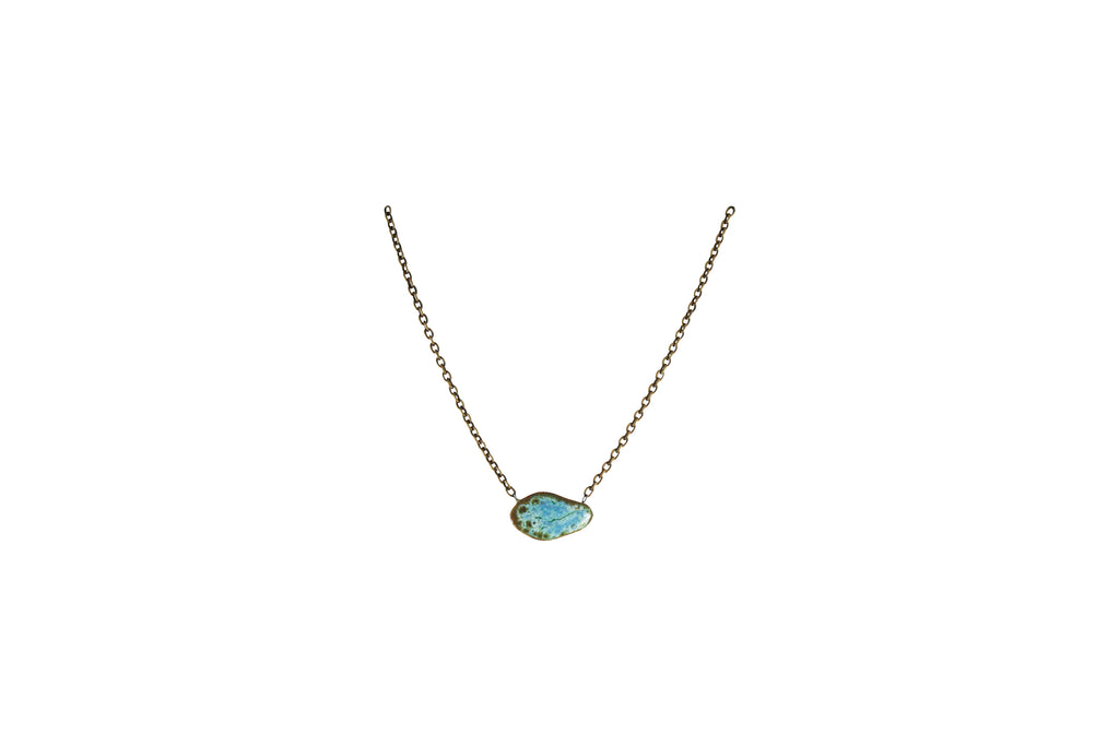 Small Gem Necklace - Short