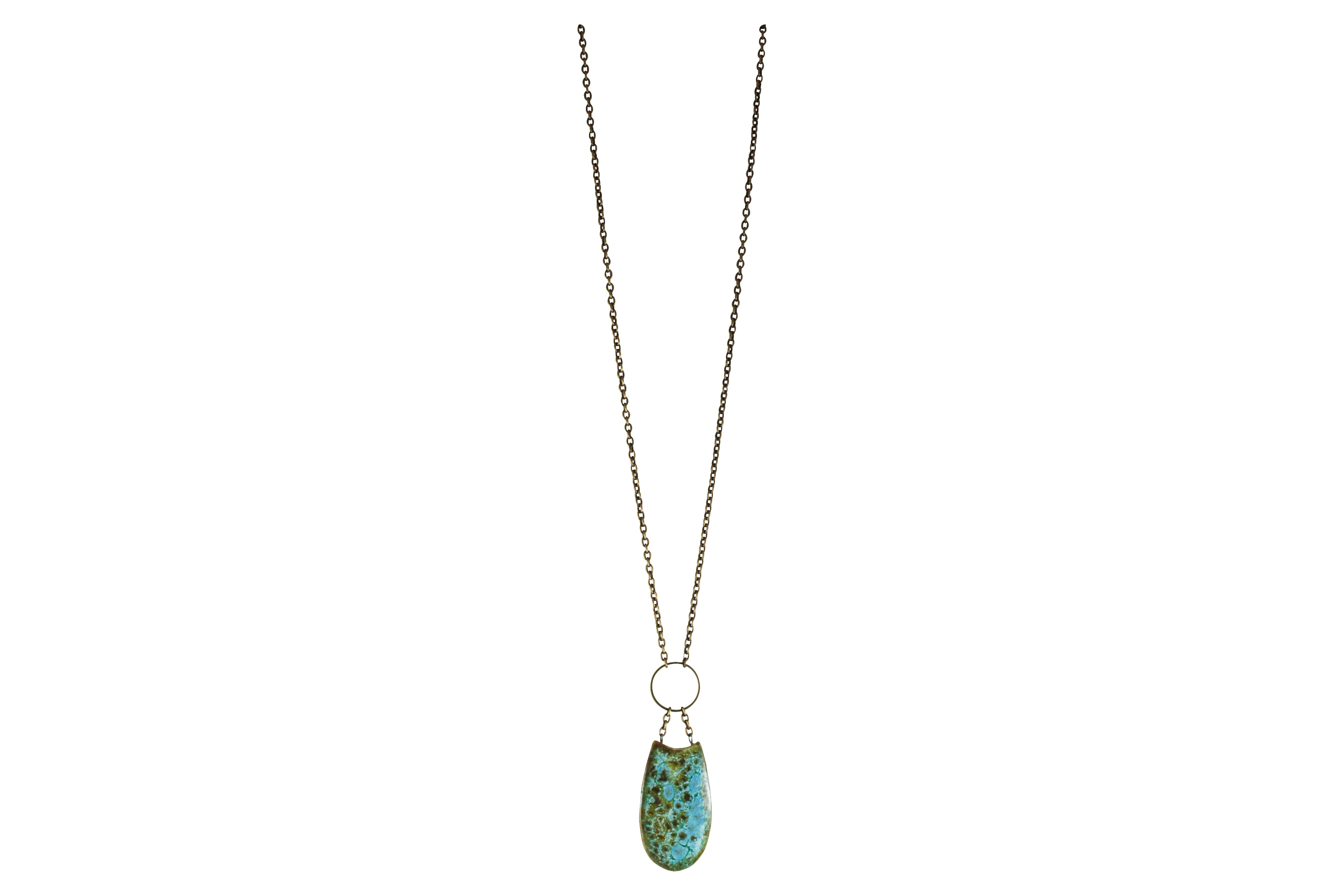 Small Scoop Necklace - Long