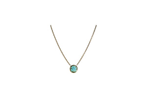 Small Circle Necklace - Short