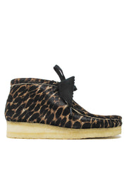WALLABEE BOOT BLACK ANIMAL PRINT