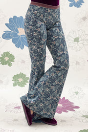COMFY 70'S PANTS TINY FLOWERS - Ghiglino1893