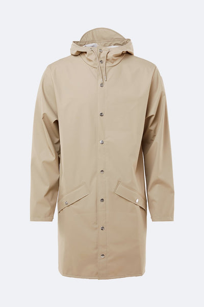 LONG JACKET BEIGE - RAINS - GIACCA - Ghiglino1893