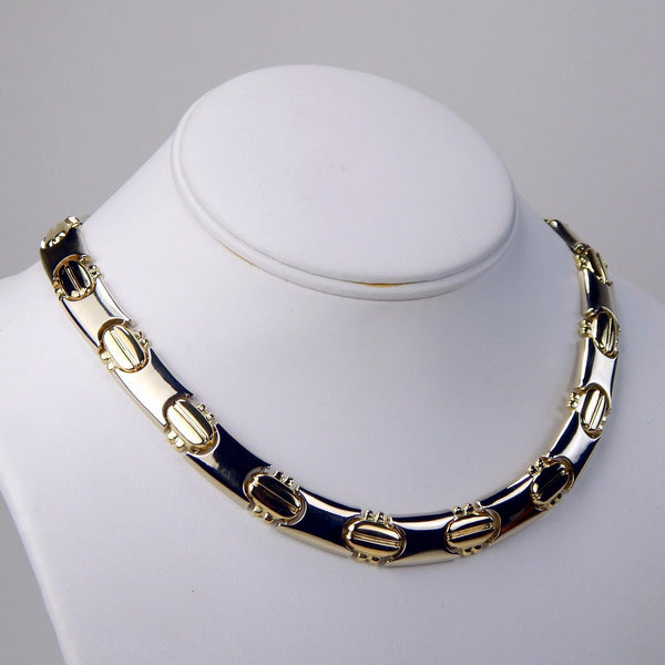 18k yellow gold necklace  #10241