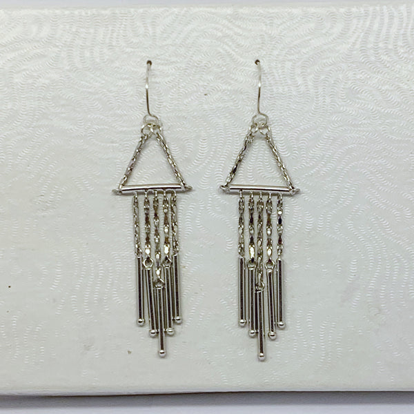 sterling silver drop earrings #4