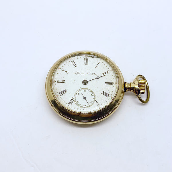 HAMPEDEN / DUEBER WATCH & CO pocket watch #472