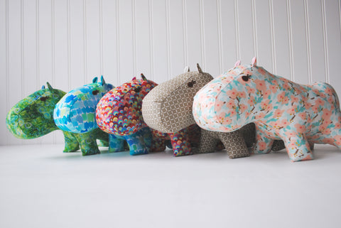 Hippos stuffed animals