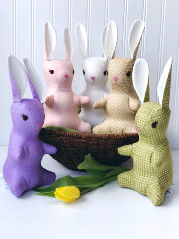 Bunnies stuffed animals
