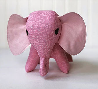 Pink elephant stuffed animal