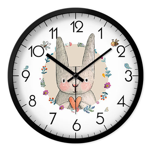 Cartoon Living Room Wall Clock Creative Children Home Wall Watch Digital Unique Wanduhren Best Selling 2018 Products 50A0129