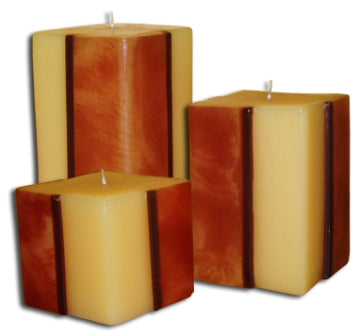 Line Candle square set