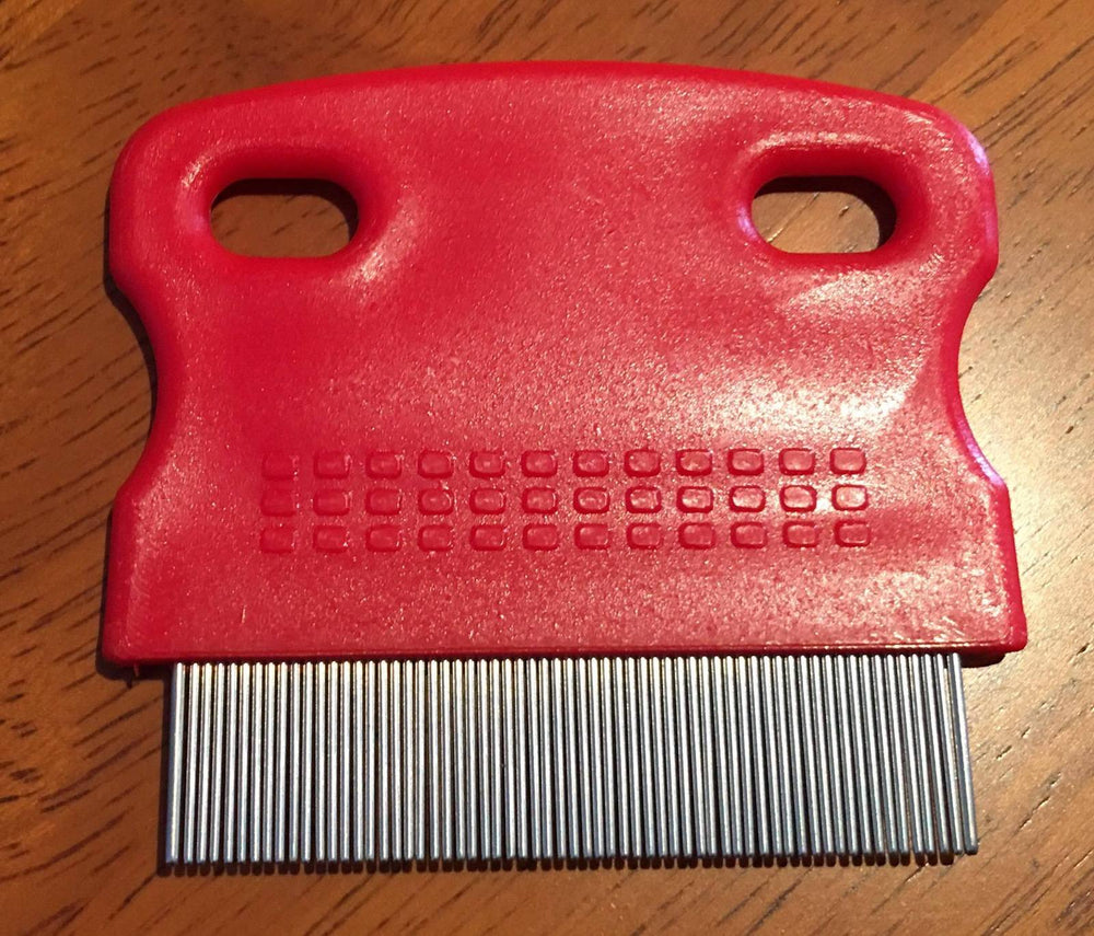 Quarter Marker Comb 52mm Red Handle - NextGen Equine