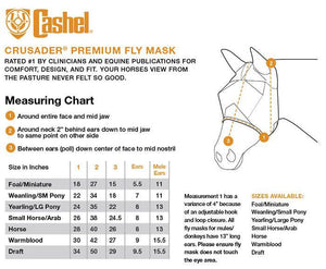 Load image into Gallery viewer, Cashel Crusader Fly Mask w/ Long Nose and Ears - NextGen Equine