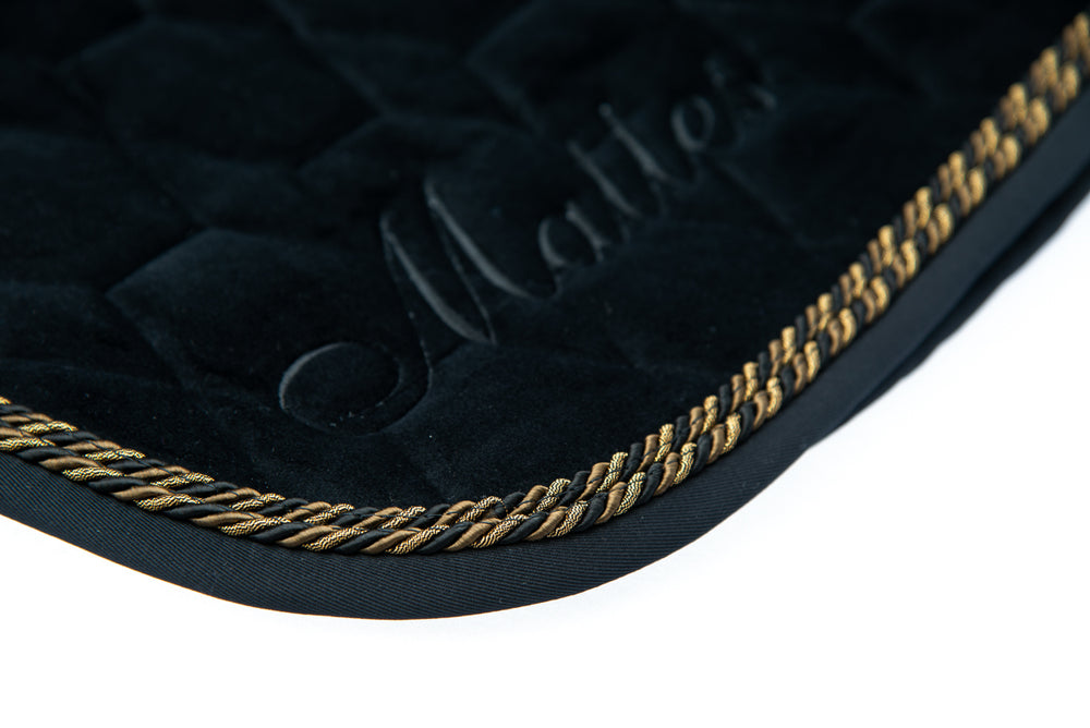 PRE-ORDER | E.A.Mattes Deluxe Collection Velvet Black from $139.00 - NextGen Equine