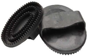 Zilco Black Rubber Curry Comb