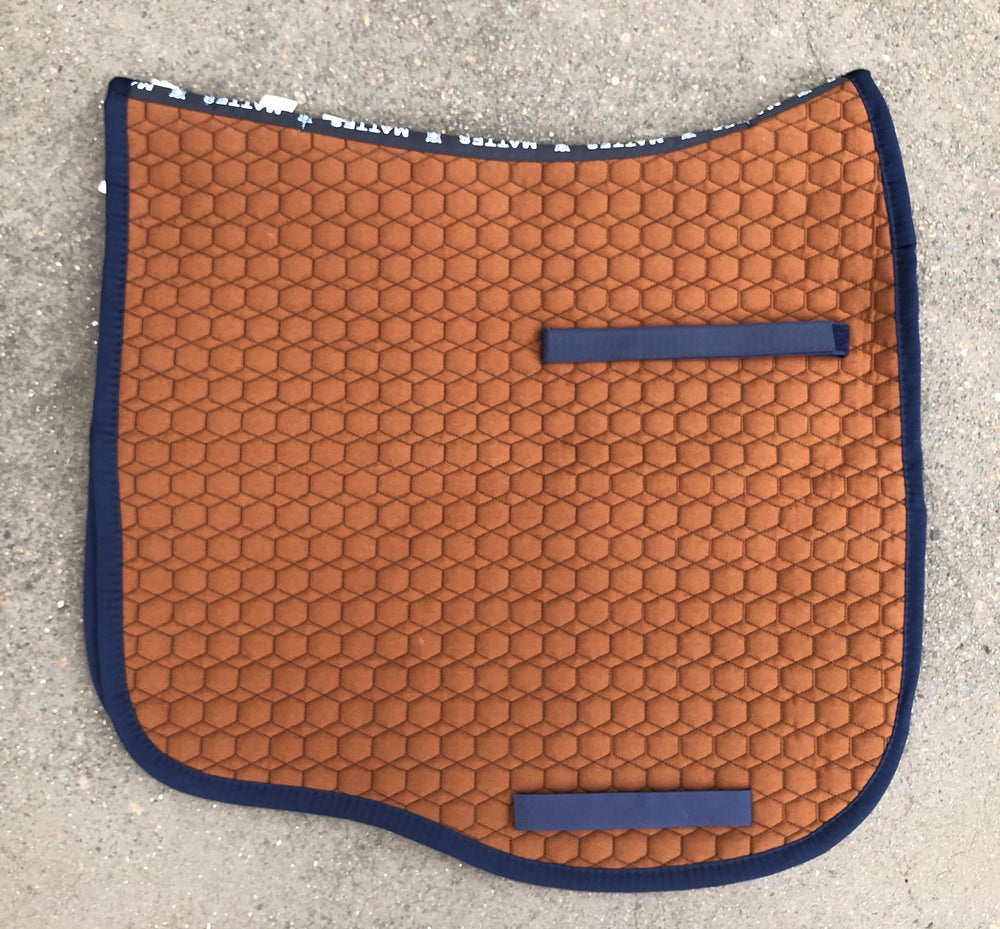 NextGen Basics Saddle Pad from E.A.Mattes Dressage Eurofit L Nougat/Navy