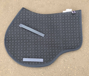 Load image into Gallery viewer, NextGen Basics Saddle Pad from E.A.Mattes Jumping Eurofit M Graphite/Graphite - NextGen Equine