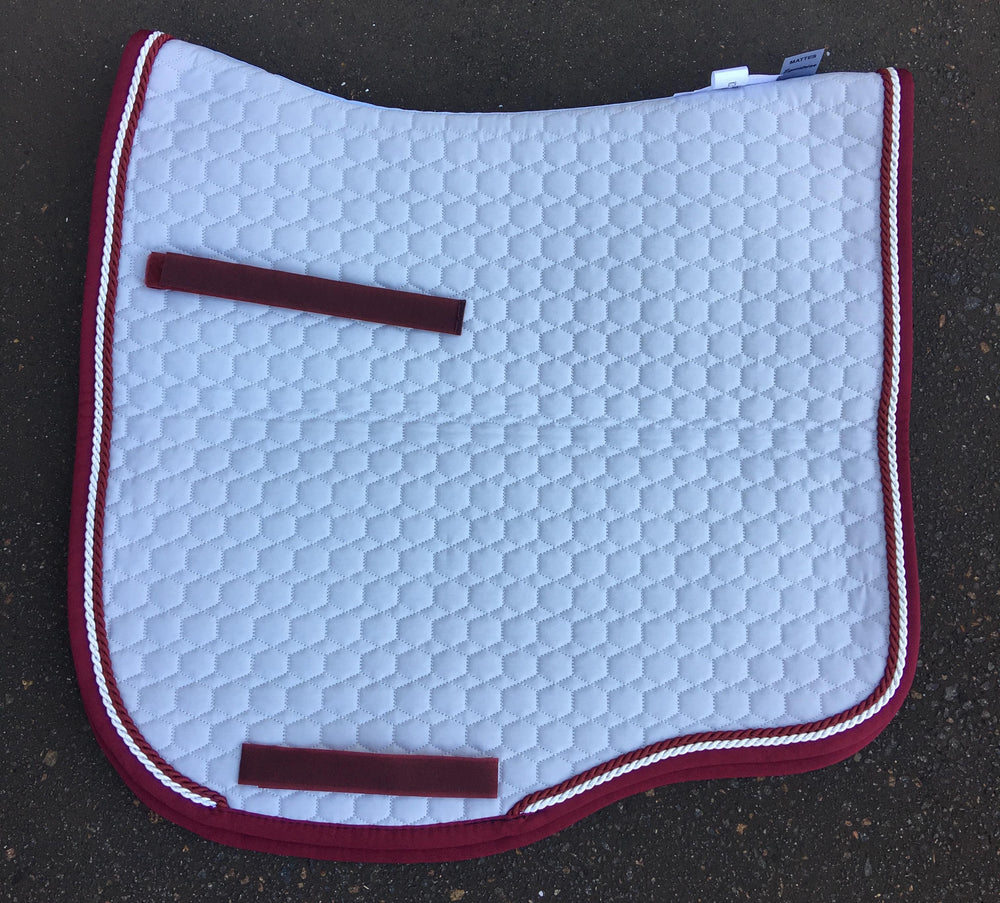 E.A.Mattes Dressage Eurofit Saddle Pad Large / Silver