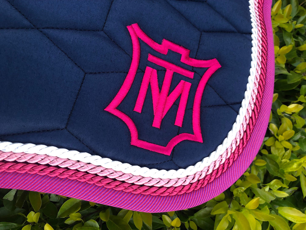 E.A.Mattes 'The Danielle' Saddle Pad in NEW Quilt Sheen - NextGen Equine