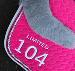 E.A. Mattes Limited Edition Jumping Eurofit Saddle Pad Medium / Orchid - NextGen Equine