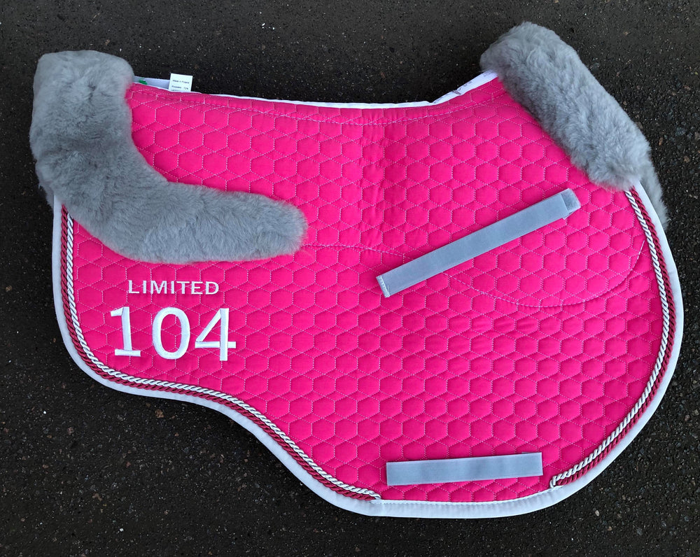 E.A. Mattes Limited Edition Jumping Eurofit Saddle Pad Medium / Orchid