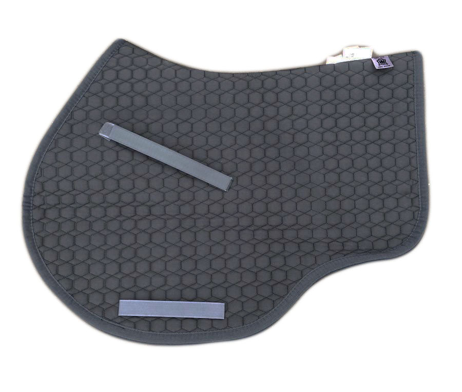 Load image into Gallery viewer, NextGen Basics Saddle Pad from E.A.Mattes Jumping Eurofit M Graphite/Graphite