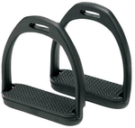 Compositi Stirrups Adults - Black 11.5cm