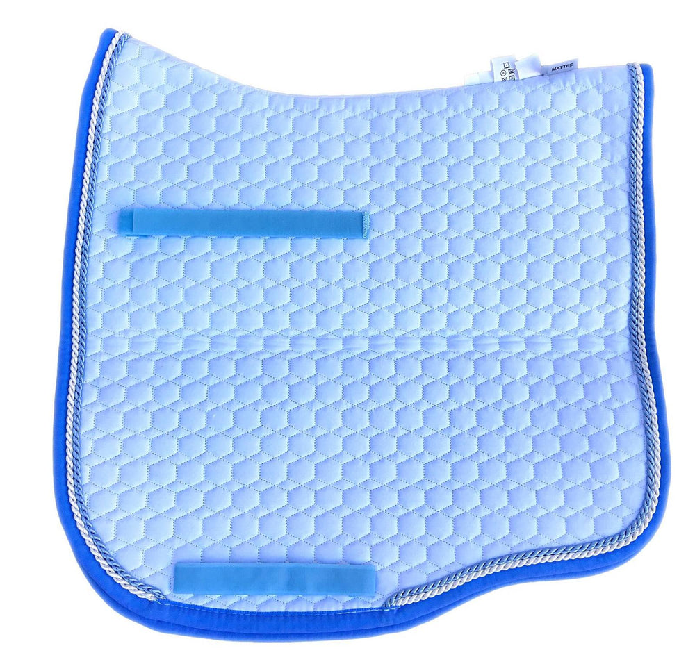 E.A.Mattes Dressage Eurofit Saddlecloth // White Medium - NextGen Equine