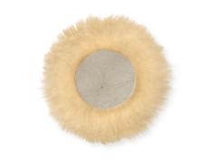 Pack of 5 - E.A.Mattes Round Sheepskin Padding for Mexican/Grackle Bridles - NextGen Equine
