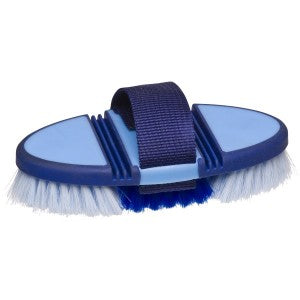 Soft Grip Flex Back Body Brush Blue