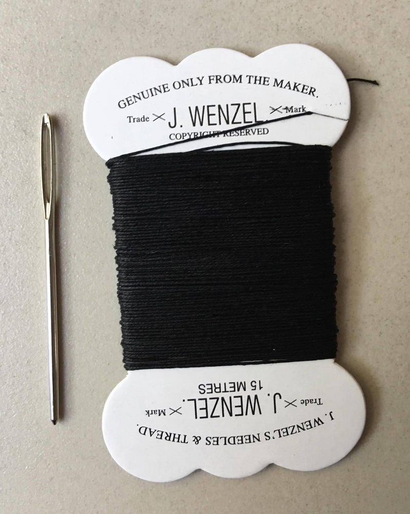 15 Metres J.Wenzel Plaiting Thread with Quality Needle