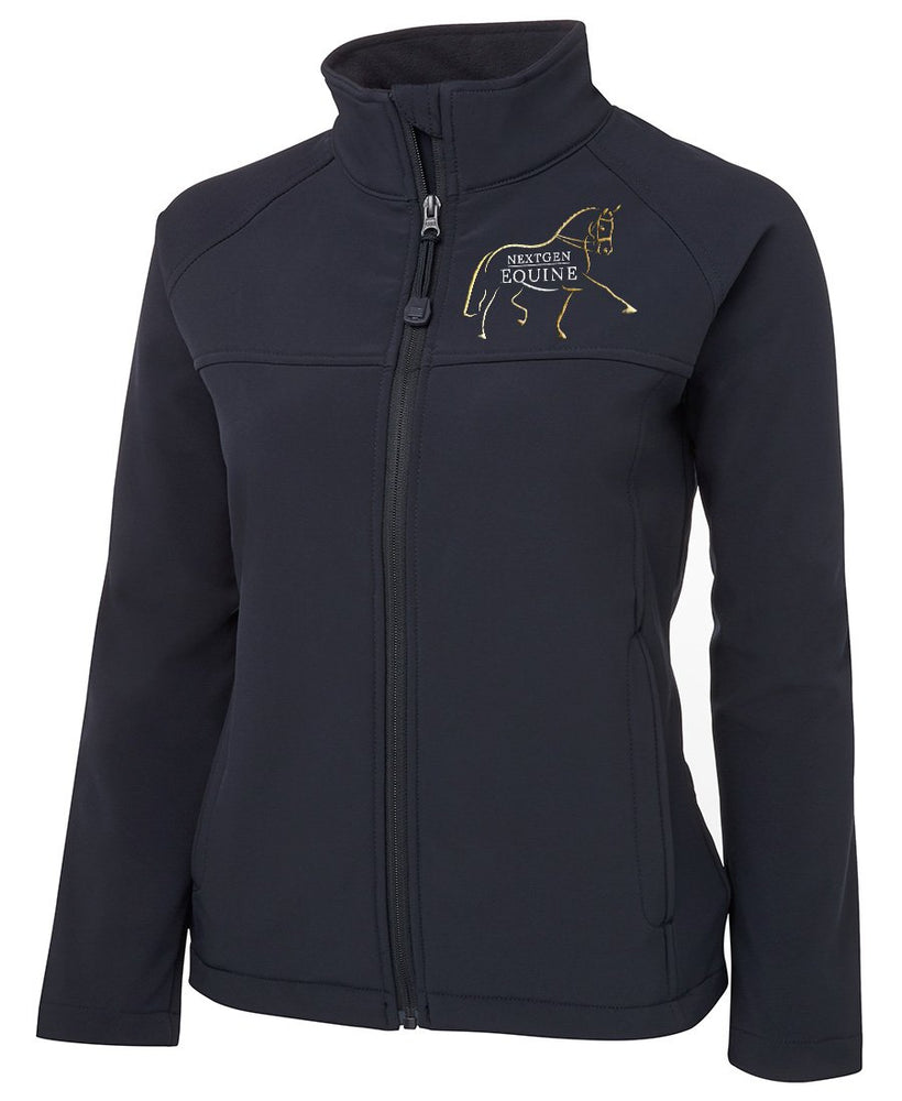 CUSTOM ORDER - NextGen Ladies Navy Soft Shell Jacket