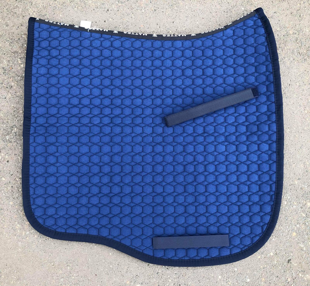 NextGen Basics Saddle Pad  from E.A.Mattes Dressage Eurofit M, L & XL Blue/Navy - NextGen Equine