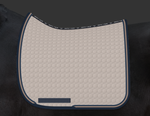 E.A. Mattes Dressage Square Saddle Pad Large / Walnut