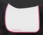 COMING SOON | E.A. Mattes Dressage Square Saddle Pad Large / White