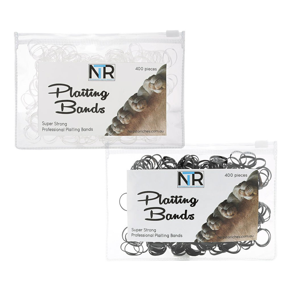 NTR Plaiting Bands 400 Pack