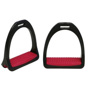 Load image into Gallery viewer, Showmaster Nylon Stirrups Adults 5 inch (12.5cm) - NextGen Equine
