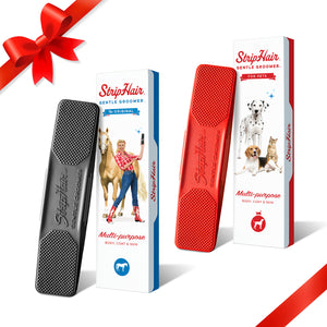 StripHair Duo (2 Groomers of your choice & 2 Blue Storage Pouches)