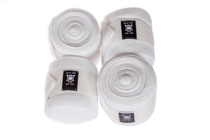 PRE-ORDER | E.A.Mattes 2021 Competition Collection | White Fleece Bandages Set of 4