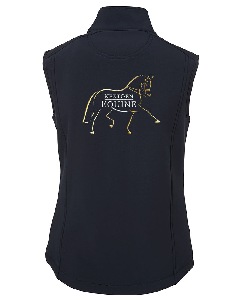 CUSTOM ORDER - NextGen Ladies Soft Shell Vest - NextGen Equine