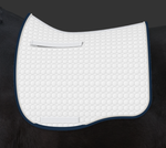 E.A. Mattes Dressage Eurofit Saddle Pad M or L / White