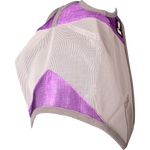 Cashel Crusader Fly Mask Standard Purple (Orchid) & Grey