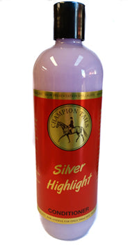 Champion Tails Concentrated Silver Highlight Conditioner 500ml - NextGen Equine
