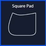 CUSTOM ORDER | E.A. Mattes Square Saddle Pad starting from $89.00 - NextGen Equine