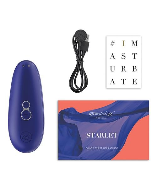 Premium clitoral Suction Stimulator Womanizer Starlet 2 Toy USB Rechargeable