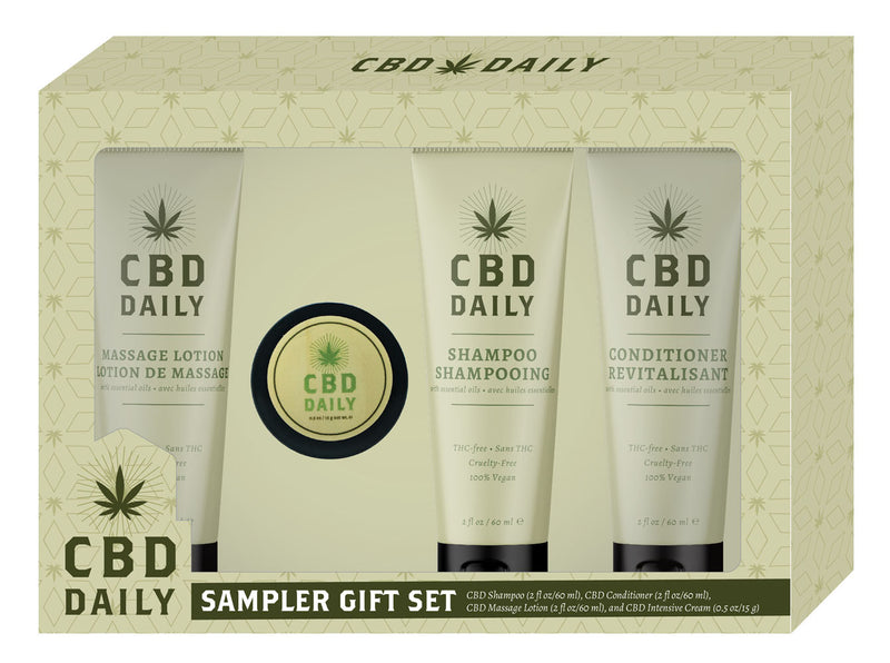 CBD hemp oil sampler set
