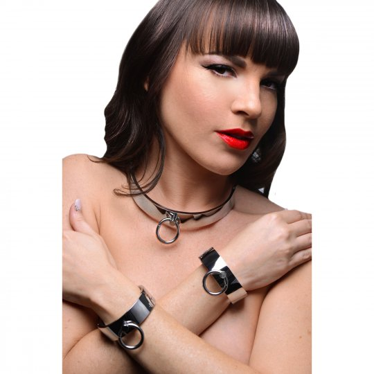 BDSM Collar and Shackles
