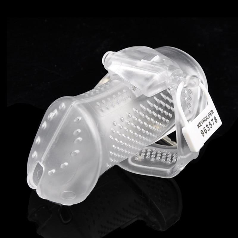 3D Cuck Box Male Cage Chastity Device with Free Serial Numbered Lock Kit